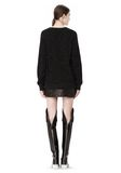 ALEXANDER WANG CASHMERE DONEGAL PULLOVER Crewneck Adult 8_n_r