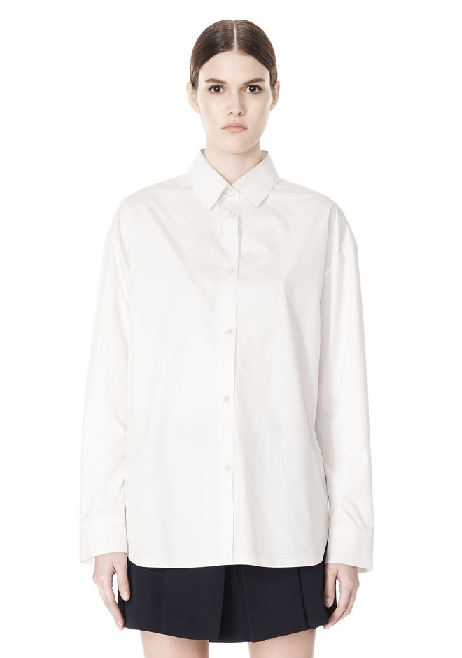OVERSIZED DRESS SHIRT