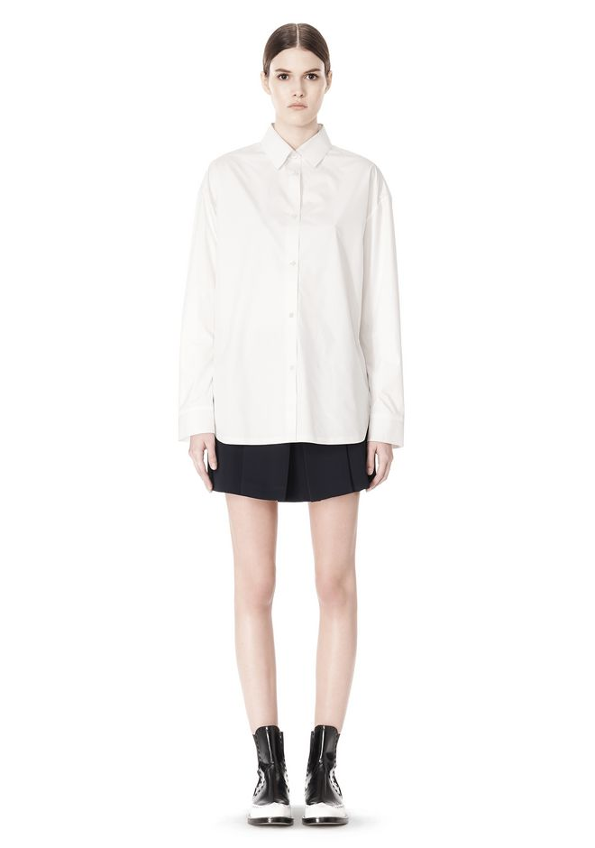 ALEXANDER WANG OVERSIZED DRESS SHIRT