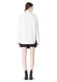 ALEXANDER WANG OVERSIZED DRESS SHIRT TOP  8_n_r