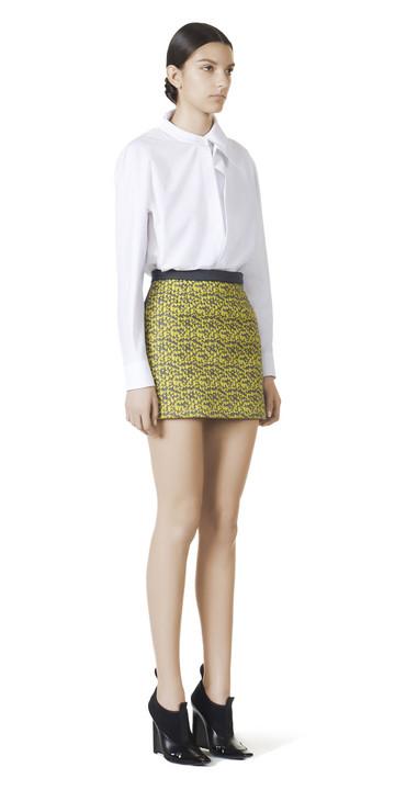 Balenciaga Double Lapel Shirt