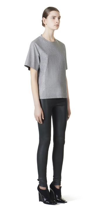Balenciaga Mini Knit Short Sleeves Top
