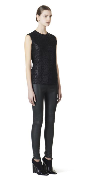Balenciaga Mini Knit Sleeveless Top