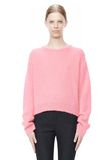 T by ALEXANDER WANG MOHAIR KNIT PULLOVER TOP Adult 8_n_e