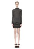T by ALEXANDER WANG ALPACA LONG SLEEVE TURTLENECK SWEATER TOP Adult 8_n_f