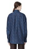 DOUBLE LAYER OVERSIZED MEN'S SHIRT