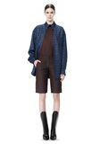 ALEXANDER WANG DOUBLE LAYER OVERSIZED MEN'S SHIRT TOP Adult 8_n_f