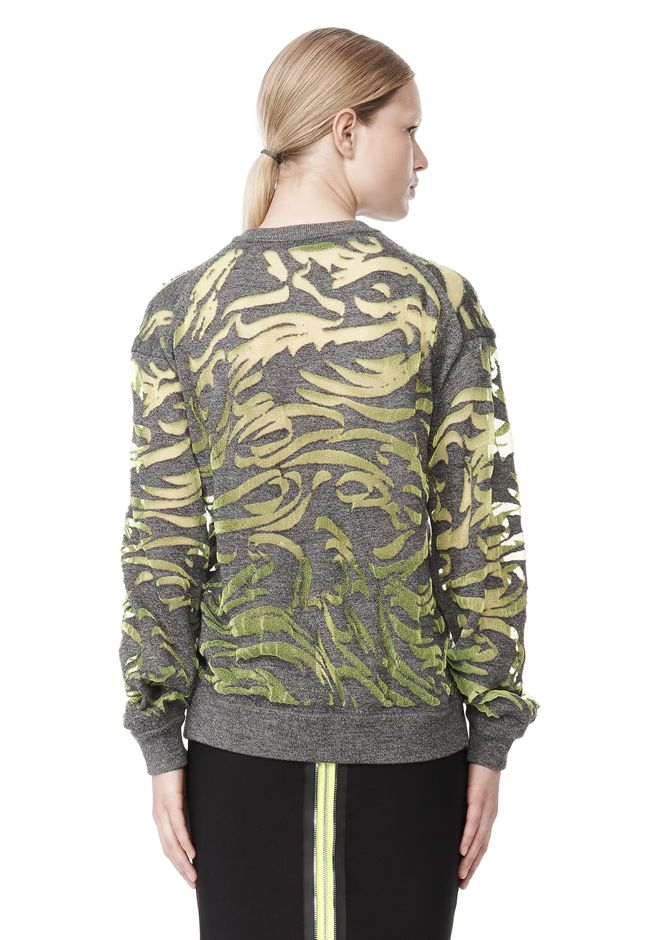 ALEXANDER WANG PAISLEY PULLOVER TOP Adult 12_n_d