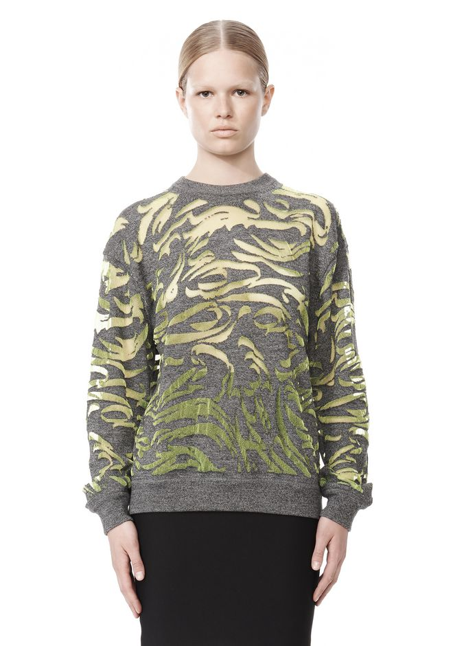 ALEXANDER WANG PAISLEY PULLOVER TOP Adult 12_n_e