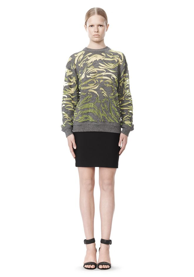 ALEXANDER WANG PAISLEY PULLOVER TOP Adult 12_n_f