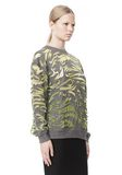 ALEXANDER WANG PAISLEY PULLOVER TOP Adult 8_n_a