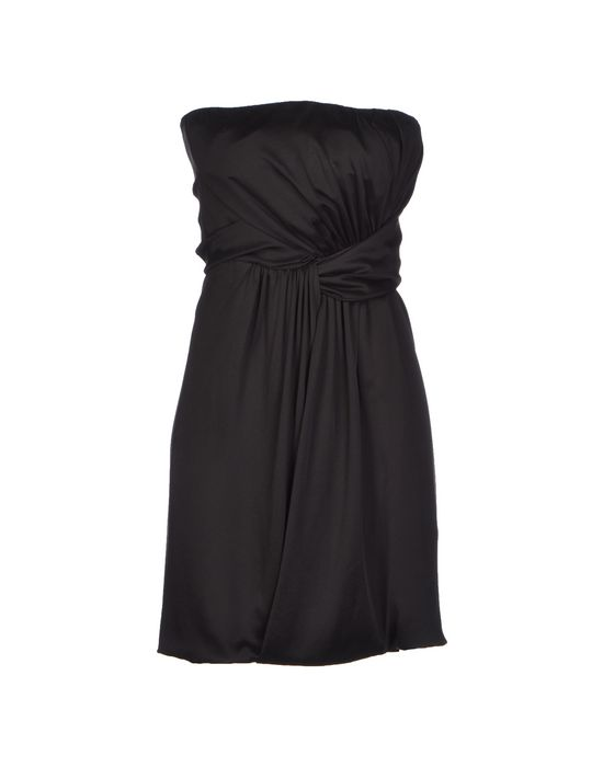 Короткое платье JASMINE DI MILO. Цвет: черный