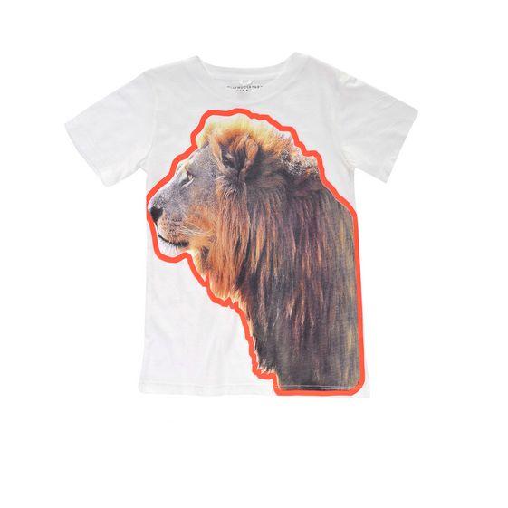 STELLA McCARTNEY KIDS, T-Shirts, ARLO LION T-SHIRT