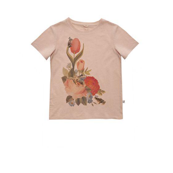 STELLA McCARTNEY KIDS, T-Shirts, ARLO FLORAL T-SHIRT