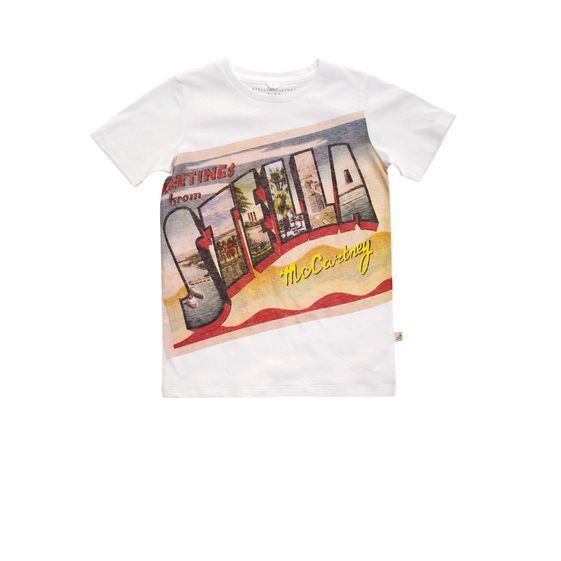 STELLA McCARTNEY KIDS, T-Shirts, ARLO GREETINGS T-SHIRT