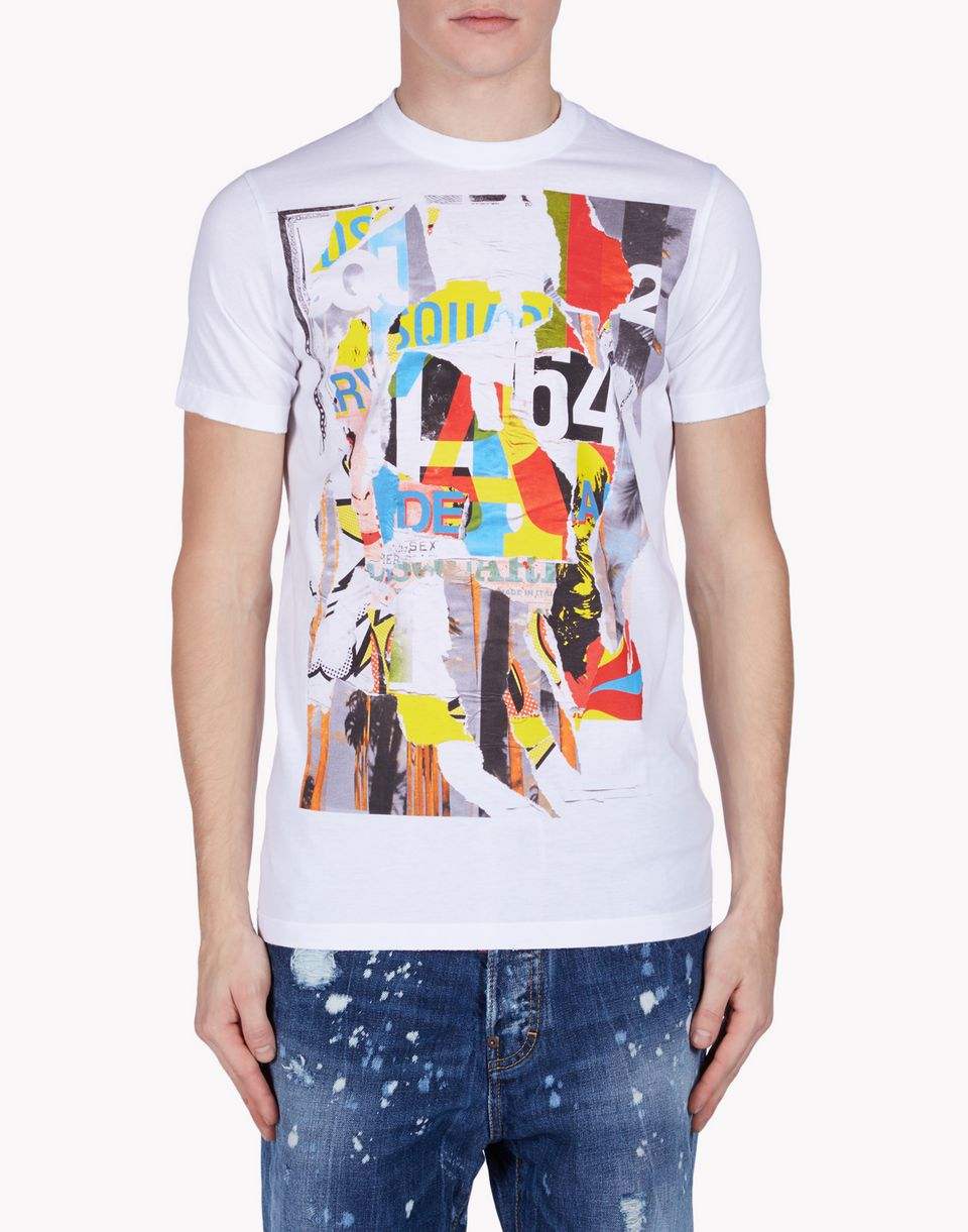 dsquared2 t shirt short sleeve t shirts men dsquared2 online store. Black Bedroom Furniture Sets. Home Design Ideas