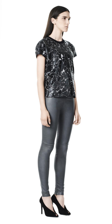 Balenciaga Marble Short Sleeves Top