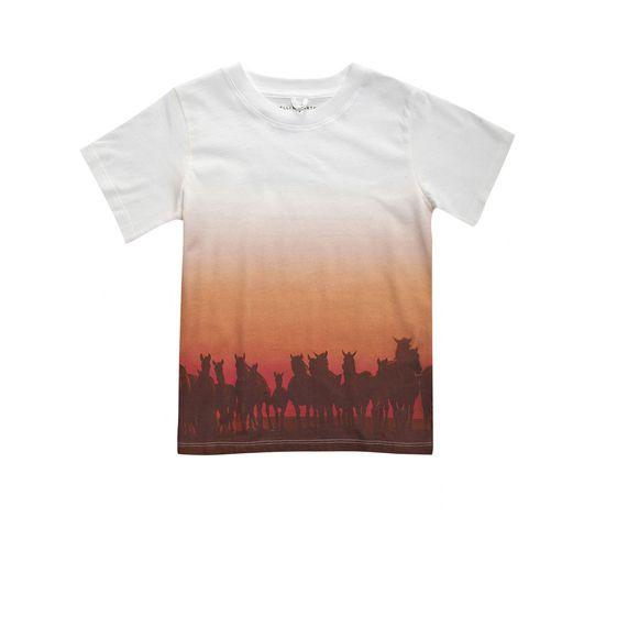 STELLA McCARTNEY KIDS, T-Shirts, Arlo 'Meat Free Monday' T-shirt