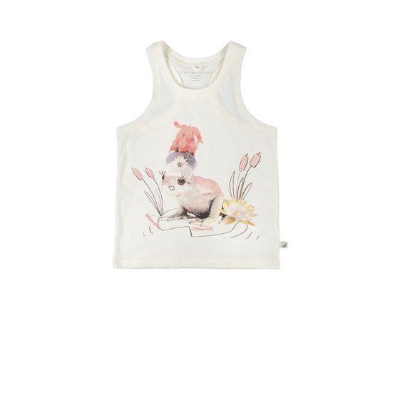 STELLA McCARTNEY KIDS, T-Shirts, VALENTINE PRINCESS FROG TOP