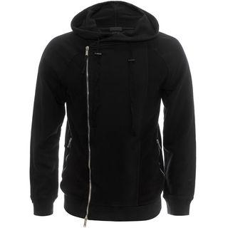 ALEXANDER MCQUEEN, Zip-up, Asymmetric Zip-Up Hooded Sweatshirt