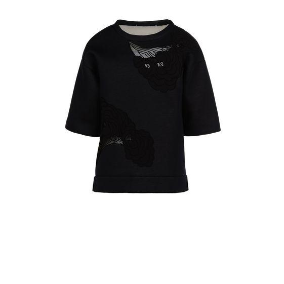 STELLA McCARTNEY, Sweatshirt à manches courtes, Sweat-shirt à manches courtes