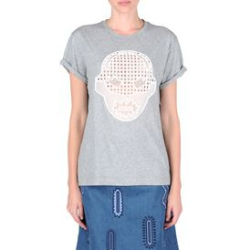 STELLA McCARTNEY, T-shirt, T-shirt super-héros gris