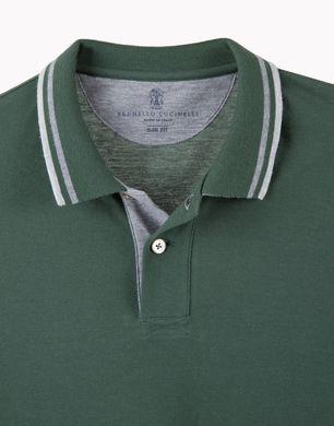 BRUNELLO CUCINELLI MTS254665 Polo shirt U d