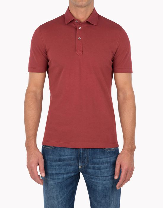 BRUNELLO CUCINELLI MTS253968 Polo shirt U f