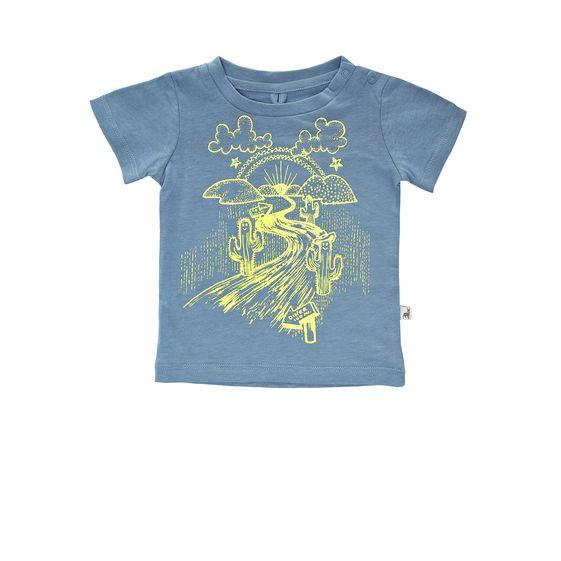 STELLA McCARTNEY KIDS, T-Shirts, CHUCKLE DESERT T-SHIRT