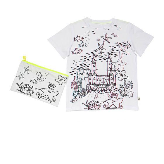 STELLA McCARTNEY KIDS, T-Shirts, ARLO STARFISH T-SHIRT