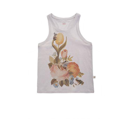 STELLA McCARTNEY KIDS, T-Shirts, VALENTINE FLORAL TOP