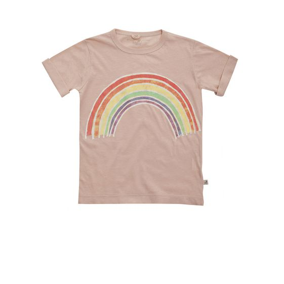 STELLA McCARTNEY KIDS, T-Shirts, LOLLY RAINBOW T-SHIRT