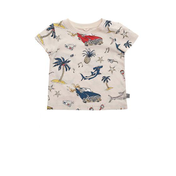 STELLA McCARTNEY KIDS, T-Shirts, CHUCKLE 50'S PRINT T-SHIRT
