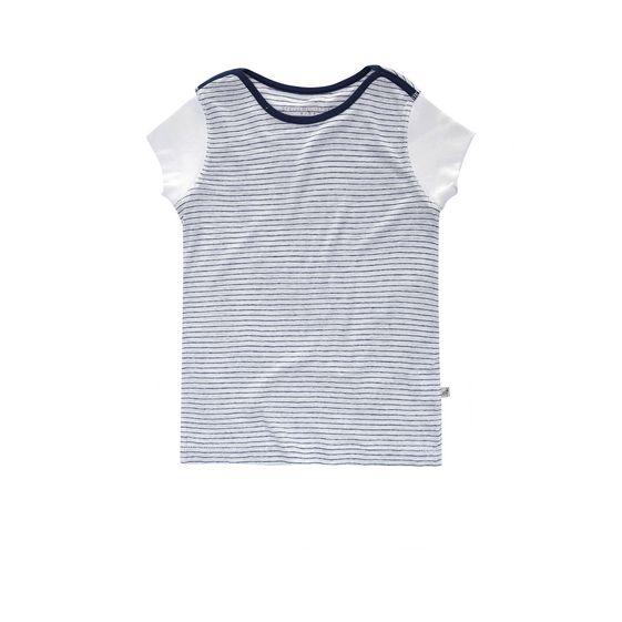 STELLA McCARTNEY KIDS, T-Shirts, CARLY STRIPED T-SHIRT