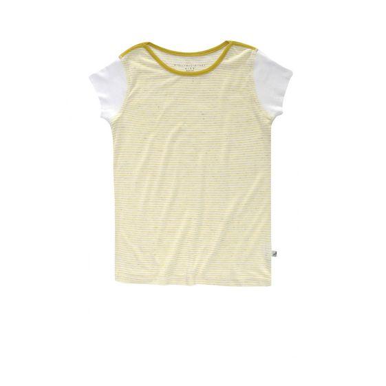 STELLA McCARTNEY KIDS, T-Shirts, CARLY STIPED T-SHIRT