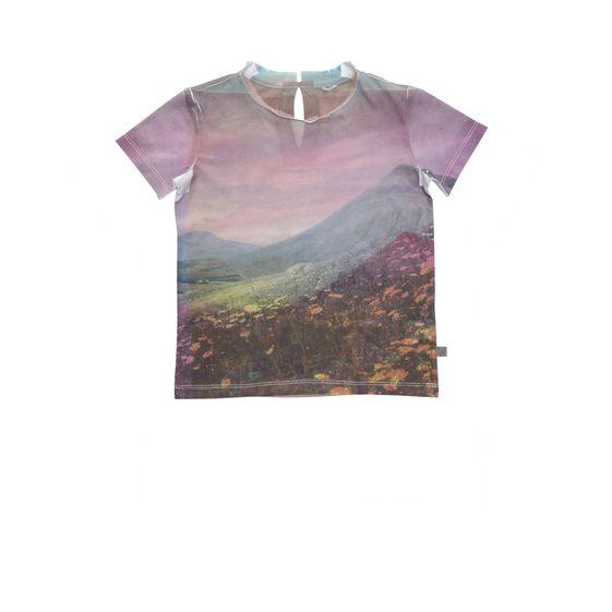 STELLA McCARTNEY KIDS, T-Shirts, ISLA LANDSCAPE T-SHIRT