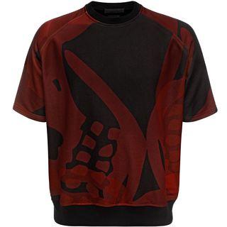 ALEXANDER MCQUEEN, Sweatshirt, Printed Short Sleeved Sweatshirt