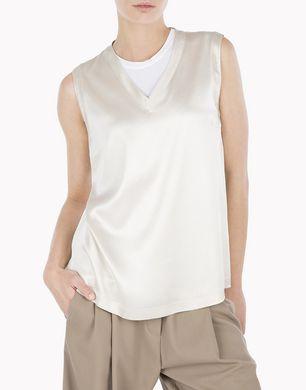 BRUNELLO CUCINELLI MPT1802B80 Sleeveless t-shirt D e