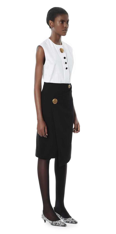 Balenciaga Multi Button Top