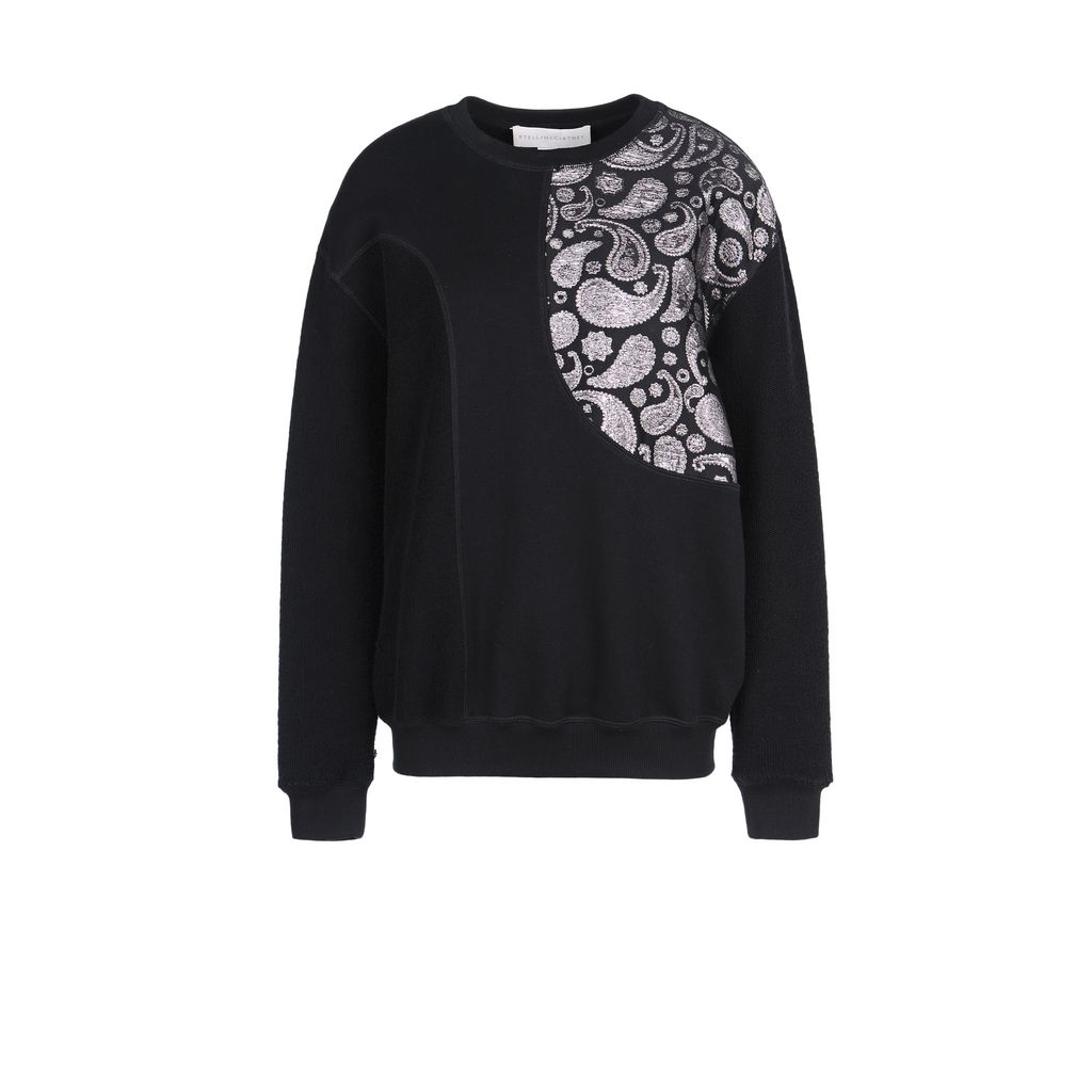 Dark bricolage sweatshirt