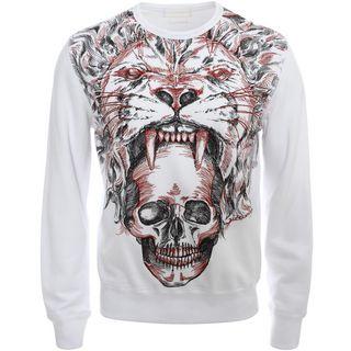 ALEXANDER MCQUEEN, Sweatshirt, Skull Lion Sweater