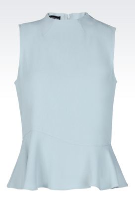 Armani Sleeveless tops Women top in cady