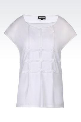 Armani Short-sleeve t-shirts Women jersey t-shirt