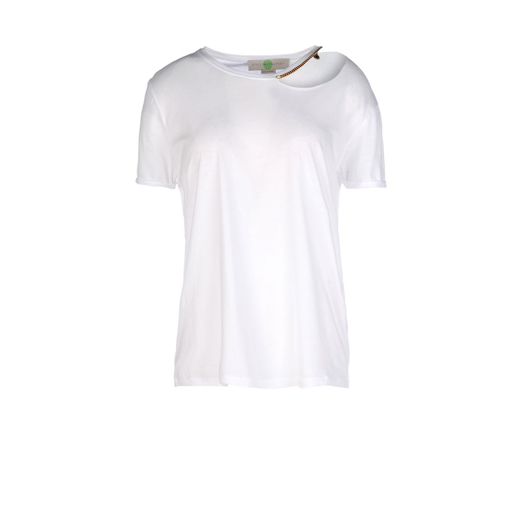 White Falabella Chain T-Shirt