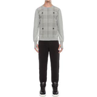 ALEXANDER MCQUEEN, Sweatshirt, Panelled Sweatshirt