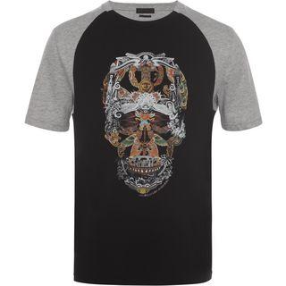 ALEXANDER MCQUEEN, T-shirt, Raglan Skull T-Shirt