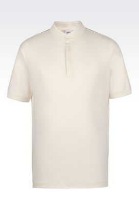 Armani Polo maniche corte Uomo polo in interlock