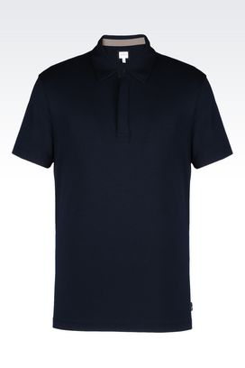 Armani Short-sleeved polos Men jersey polo shirt