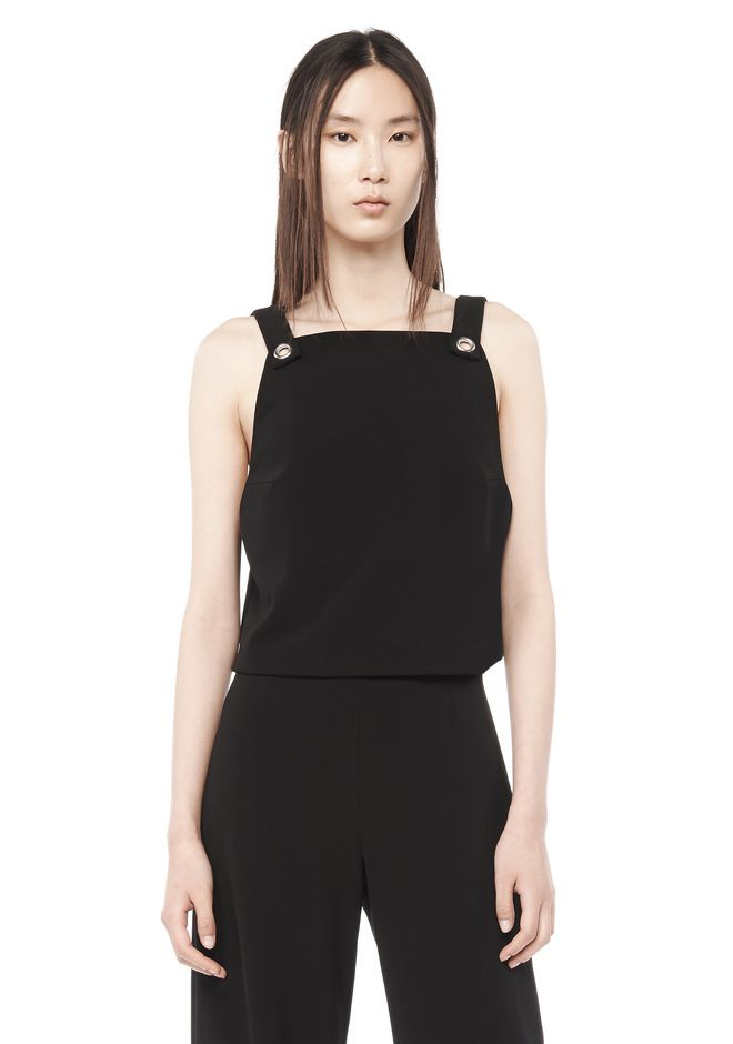 T by ALEXANDER WANG t-by-alexander-wang-sale PINAFORE CROPPED TOP