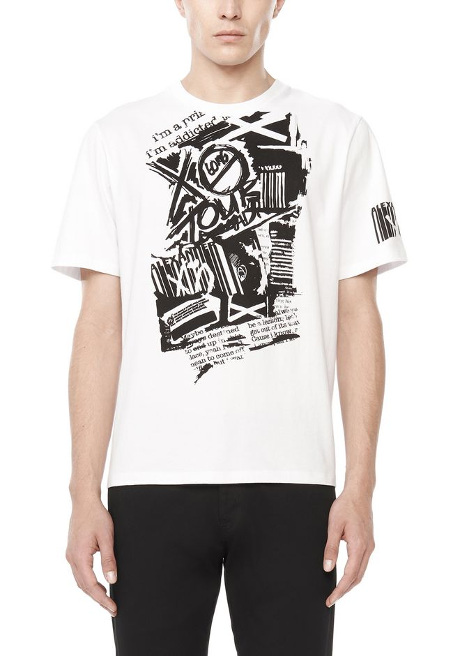 ALEXANDER WANG exclusives WANGXO COTTON JERSEY TEE